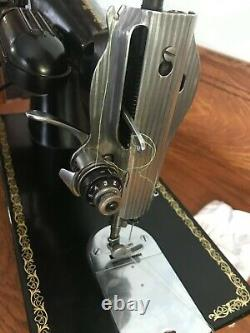 1952 Heavy Duty Singer 15-91 Sewing Machine Serviced, Tested Ready To Use