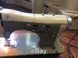 1955 Necchi Bu Supernova Sewing Machine Heavy Duty Leather Upholstery