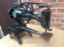 Antique 29k4 Cylinder Arm Heavy Duty Leather Patcher Sewing Machine Head Only