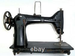 Antique industrial Singer 103 heavy duty sewing machine tailor suit maker denim