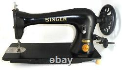 Antique industrial Singer 16K33 heavy duty sewing machine 16-33 DENIM LEATHER