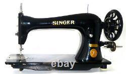 Antique industrial Singer 16k23 sewing machine leather canvas denim heavy duty