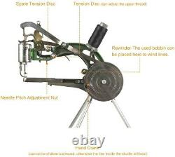 BEAMNOVA Leather Cobbler Sewing Machine Industrial Hand Heavy Duty Shoe Repair