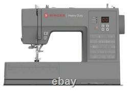 BRAND NEW LED Singer Heavy Duty 6600C Computerized Sewing Machine