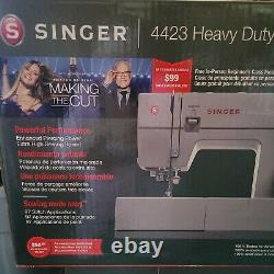 BRAND NEW in BOX, SINGER Heavy Duty Sewing Machine, Model 4423, with Accessories