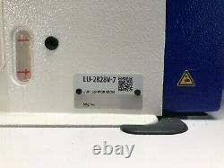 Barely used Juki LU2828v-7 (production-ready, heavy duty, smart sewing machine)