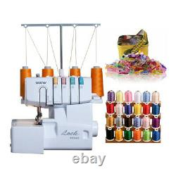 Brother 1034D Serger Heavy Duty Overlock Machine with Sewing Clips Bundle