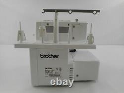 Brother Serger 1034D Heavy-Duty Metal Frame Overlock Machine, White