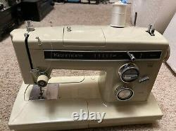 HEAVY DUTY Sears Kenmore Free Arm Zig Zag Sewing Machine 158.17600 MADE IN JAPAN