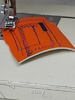 Heavy Duty Leather Upholstery Denim Vinyl Multi Stitch Sewing Machine Serviced