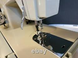 Heavy Duty Vtg Sears Kenmore Model 1303 Sewing Machine with Carry Case & Manual