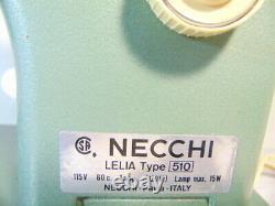 INDUSTRIAL STRENGTH HEAVY DUTY NECCHI LELIA SEWING MACHINE 16 oz Leather WOW