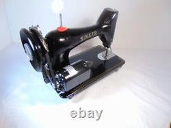 INDUSTRIAL STRENGTH HEAVY DUTY SINGER 99K SEWING MACHINE 12 oz Leather WOW