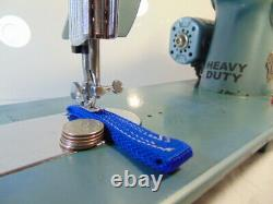 INDUSTRIAL STRENGTH HEAVY DUTY TOYOTA SEWING MACHINE 16 oz Leather WOW