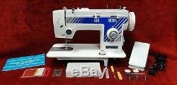 INDUSTRIAL STRENGTH OMEGA sewing machine HEAVY DUTY for upholstery leather