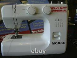 Industrial strength walking foot sewing machine powerfull heavy duty leather