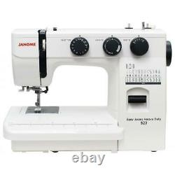 JANOME EASY JEANS & HEAVY DUTY 523 Sewing Machine. Works on 110V and 220V