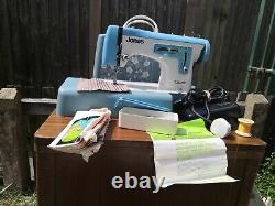 JONES ZigZag Upholstery And Fabric Semi Industrial Heavy Duty Sewing Machine