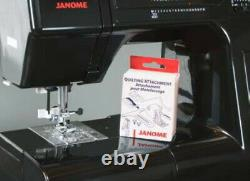 Janome HD5000 Black Heavy Duty Sewing Machine + BONUS KIT New