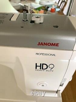 Janome HD9 Heavy Duty Professional Straight Stitch Mechanical Sewing Machine