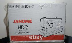 Janome HD9 Professional Heavy Duty Sewing/Quilting Machine withbox