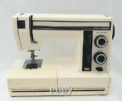 Janome New Home Semi Industrial Sewing Machine, Heavy Duty for all Fabrics +