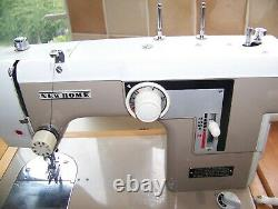 Janome Newhome 677 Heavy Duty Sewing Machine, Japanese, Drop Feed, Expert Serviced