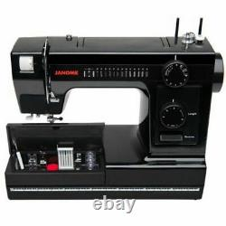 Janome Sewing Machine Model Heavy Duty HD1000-BE Black Edition Used