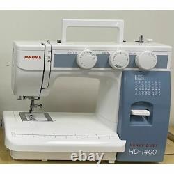 Janome Sewing Machine Model Heavy Duty HD1400 + Bonus Value Kit New