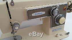 Jones Heavy Duty Semi Industrial Sewing Machine for Heavy Duty Work + Extras