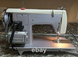 Kenmore 158 321 Heavy Duty Vintage Sewing Machine Made in Japan Tested Working