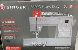 LED Singer Heavy Duty 6600C Computerized Sewing Machine FREE Class Included