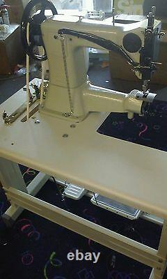 Leather Buster industrial cylinder ARM COMMERCIAL SEWING MACHINE heavy duty