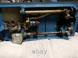 Morse Fotomatic III 4300 Sewing Machine Zig Zag Heavy Duty Vintage + pedal