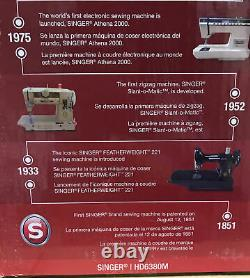 NEW! SINGER Heavy Duty Sewing Machine HD6380M