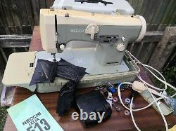 Necchi Lelia 513 Heavy Duty Upholstery And Fabric Zigzag Sewing Machine