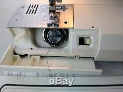 Necchi Logica 591 Heavy Duty Electronic Sewing Machine with Foot Pedal AS-IS