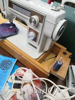 New Home 551 Semi Industrial Heavy Duty EMBROIDERY Stitch ZigZag Sewing Machine