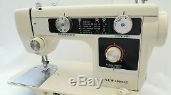 New Home Automatic Semi Industrial Sewing Machine for Heavy Duty Work + Extras