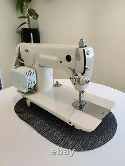 New Home Janome Model 133 Heavy Duty Semi Industrial Upholstry Sewing Machine