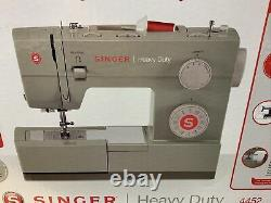 New Singer Heavy Duty 4452 Sewing Machine with 32 Built-In Stitches (Dmg Box)