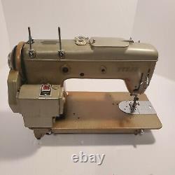 PFAFF 230 Automatic Dial-A-Stitch Sewing Machine 1950s Heavy Duty Industrial