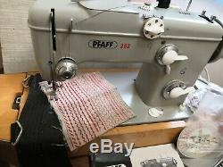 Pfaff 262 Semi Industrial Heavy Duty Upholstery And Fabric Sewing Machine