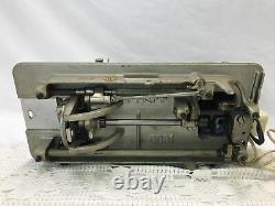 SERVICED PFAFF 60 Heavy Duty Industrial Vtg Sewing Machine Denim Leather (Steel)