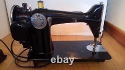 SERVICED Singer 1200-1 Sewing Machine Heavy Duty Straight Stitch 201-2 Denim 201