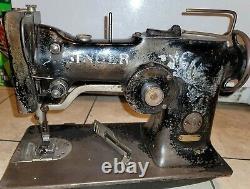 SINGER 10w1 Zig Zag Heavy Duty Industrial Sewing Machine Head Only works offers