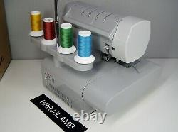 SINGER 14HD854 Heavy Duty Overlock SERGER Sewing Machine MINT CONDITION