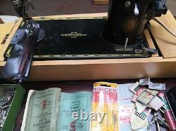 SINGER 201 Semi Industrial Heavy Duty Upholstery And Fabric Sewing Machine