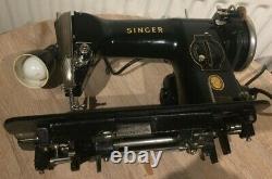 SINGER 215G Industrial Strength Heavy Duty Sewing Machine (1950), Vintage Singer