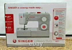 SINGER 4411 Heavy Duty Sewing Machine NEW